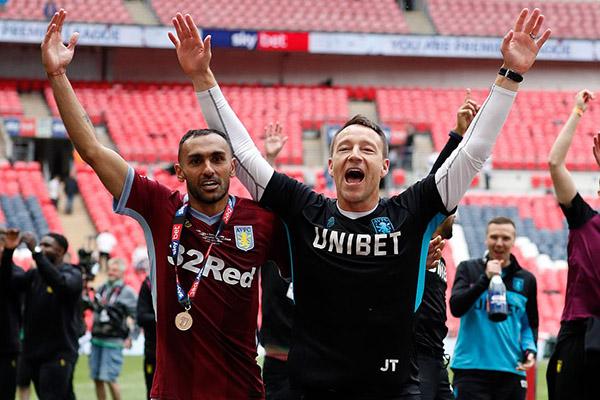 Aston Villa, Derby County, Aston Villa 2-1 Derby County, video Aston Villa 2-1 Derby County, play-off thăng hạng, play-off lên hạng, lampard, terry, lampard đối đầu terry