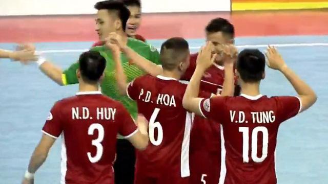 Lịch thi đấu bóng đá futsal Đông Nam Á hôm nay: Việt Nam đấu với Indonesia. Trực tiếp trên VTC3, VTC8, BĐTV