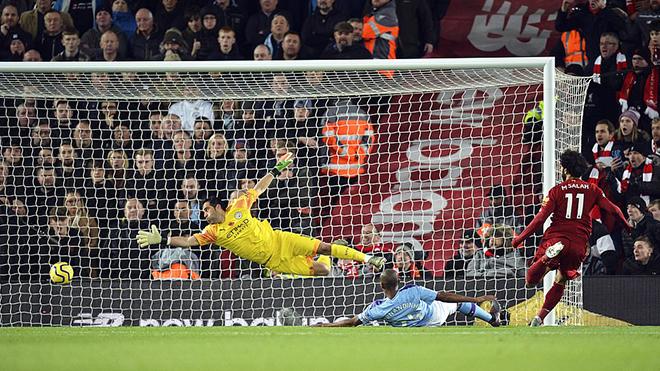 Ket qua bong da, kết quả bóng đá, kết quả Liverpool vs Man City, Liverpool vs Man City, Liverpool đấu với Man City, kết quả Ngoại hạng Anh, bóng đá Anh, BXH bóng đá Anh, Salah