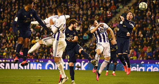 Ket qua bong da, Valladolid vs Real Madrid, video Valladolid 0-1 Real Madrid, kết quả bóng đá La Liga, kqbd, bảng xếp hạng bóng đá Tây Ban Nha, Real Madrid, Barcelona, Nacho, Kroos