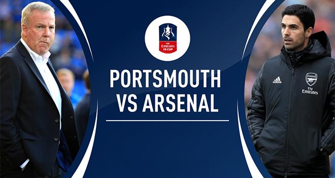 Ket qua bong da, Porthsmouth vs Arsenal, Jong Heerenveen vs Jong Willem II, Văn Hậu, bóng đá Hà Lan, kết quả cúp FA, video Portsmouth 0-2 Arsenal, Jong Heerenveen, kqbd