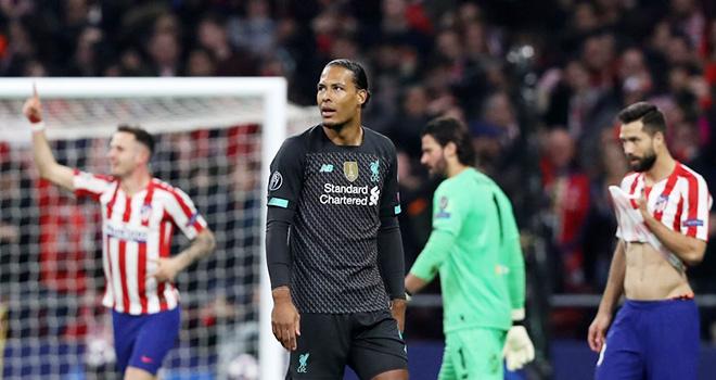 Ket qua bong da, Liverpool vs Atletico, PSG vs Dortmund, Kết quả cúp C1. Kqbd, kết quả bóng đá, Liverpool bị loại, Liverpool thành cựu vô địch, Liverpool 2-3 Atletico, C1