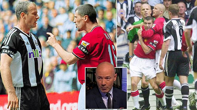Alan Shearer: 'Tôi từng bẫy Roy Keane nhận thẻ đỏ, và suýt bị trả thù'