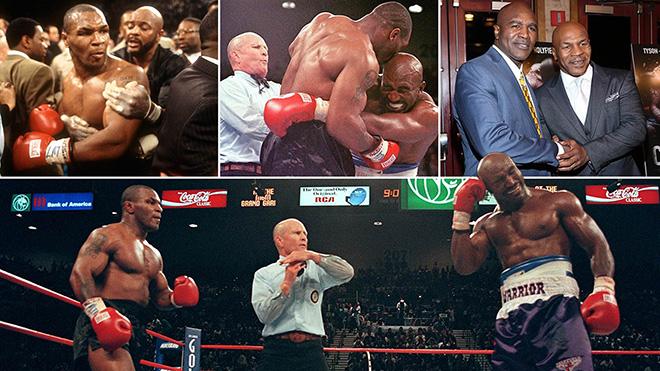 Mike Tyson sẽ tái đấu Evander Holyfield, 23 năm sau vụ cắn tai lịch sử?