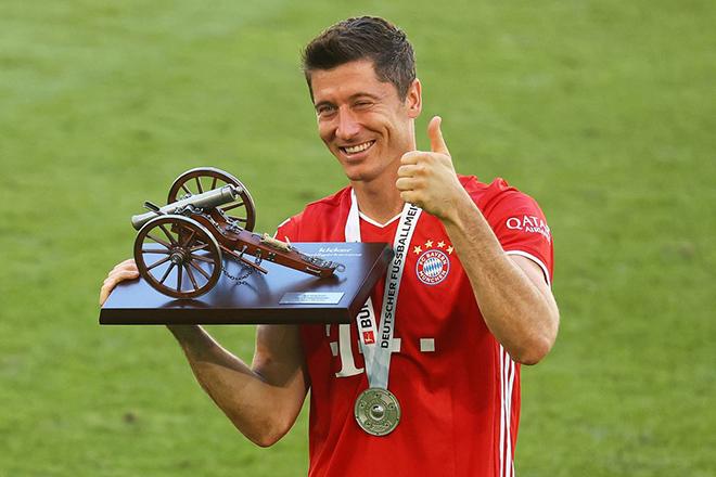 Bong da, Bóng đá hôm nay, Lewandowski, cầu thủ vĩ đại nhất Ba Lan, Bayern Munich, Dortmund, bóng đá Đức, Bundesliga, Vua phá lưới, chiếc giày vàng, kỷ lục, bóng đá