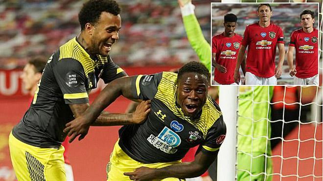 Video bàn thắng MU 2-2 Southampton: Đòn đau phút bù giờ, MU chưa thể vào Top 4