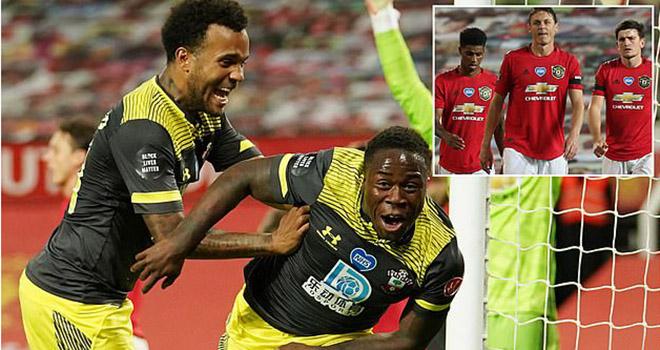 Ket qua bong da, MU vs Southampton, Video bàn thắng MU 2-2 Southampton, BXH Anh, kết quả bóng đá Anh, kết quả MU vs Southampton, kết quả Ngoại hạng Anh, Top 4, kqbd, MU