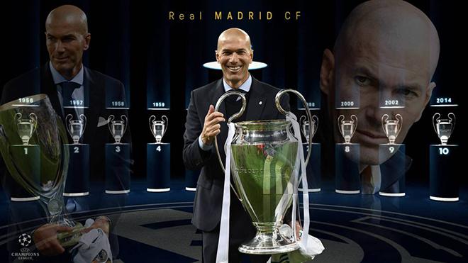 Real Madrid vô địch La Liga: Zidane vẫn luôn là người vĩ đại nhất