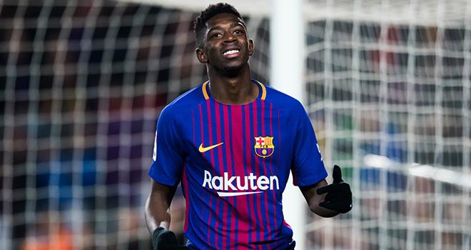 Ousmane Dembele, MU, Chuyển nhượng MU, MU mua 3 ngôi sao với 160 triệu bảng, MU mua Ansu Fati, Sancho, Upamecano, Telles,chuyển nhượng bóng đá, tin tức chuyển nhượng, tin chuyển nhượng