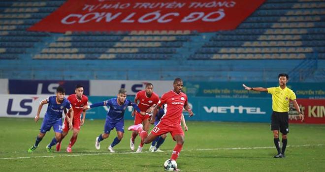 Cuộc đua vô địch V-League 2020, Bảng xếp hạng V-League, Viettel, Sài Gòn, Hà Nội, kết quả V-League, Viettel vs Bình Dương, Sài Gòn vs TPHCM, lịch thi đấu V-League, kqbd