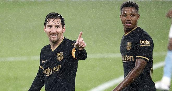 Messi, Ansu Fati, Video clip bàn thắng Celta Vigo vs Barcelona, Ket qua Celta Vigo Barcelona, Kqbd, Barcelona đấu với Celta Vigo, Bảng xếp hạng La Liga, kết quả Celta Vigo vs Barcelona