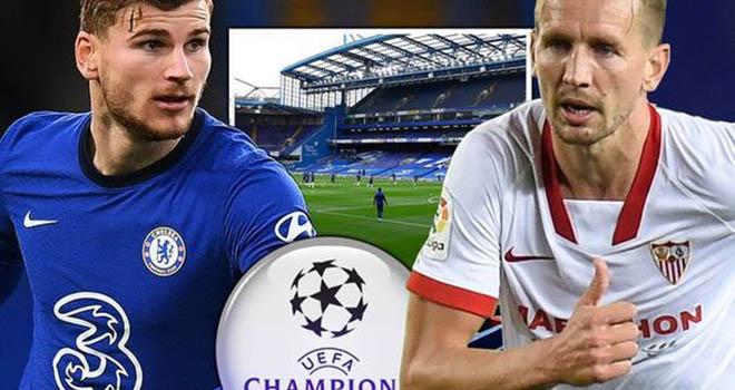 Link xem trực tiếp bóng đá, Chelsea vs Sevilla, Xem trực tiếp vòng bảng Champions League, Xem bóng đá trực tuyếnChelsea đối đầu Sevilla,Trực tiếp cúp C1 châu Âu. K+PC