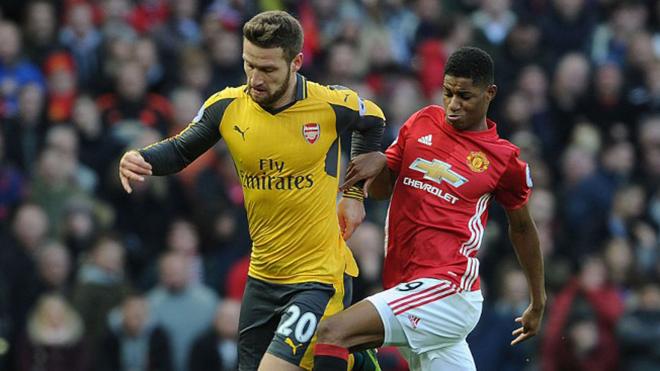 Lịch thi đấu bóng đá hôm nay. Trực tiếp MU đấu với Arsenal. K+, K+PM