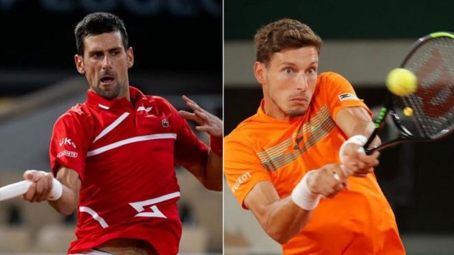 Lịch thi đấu Roland Garros 7/10: Trực tiếp Djokovic vs Carreno Busta, Rublev vs Tsitsipas. TTTV