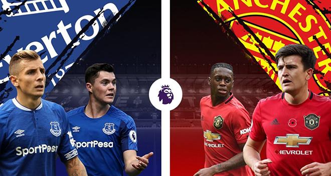 Lịch thi đấu Ngoại hạng Anh vòng 8, Everton vs MU, Man City vs Liverpool, K+PM, K+, trực tiếp bóng đá Anh, MU đấu với Everton, Liverpool đấu với Man City, BXH bóng đá Anh