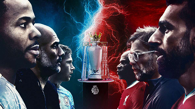 Lịch thi đấu bóng đá hôm nay. Trực tiếp Man City đấu với Liverpool. K+, K+PM