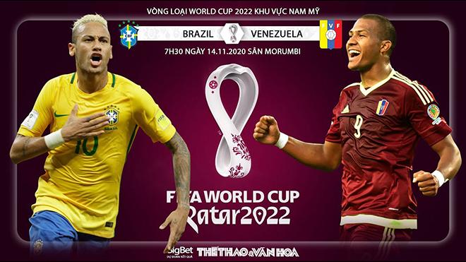 Lịch thi đấu bóng đá hôm nay: Trực tiếp Argentina vs Paraguay, Brazil vs Venezuela