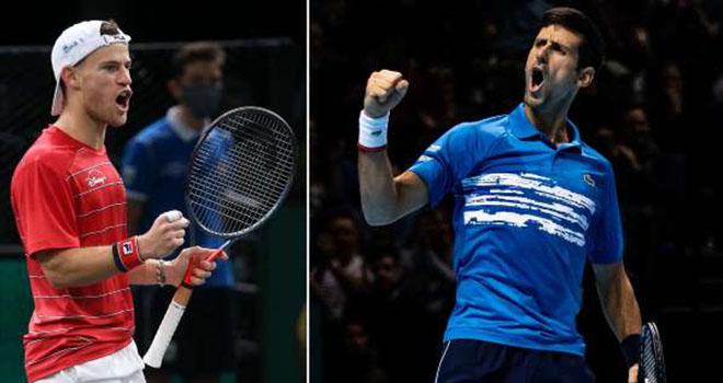 Lịch thi đấu ATP Finals 2020, Djokovic vs Schwartzman, Trực tiếp tennis, trực tiếp Djokovic vs Schwartzman, link xem trực tiếp Djokovic vs Schwartzman, K+PM, TTTV, K+PC