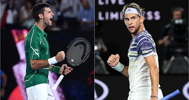 Lich thi dau ATP Finals 2020, Thiem vs Djokovic, Medvedev vs Nadal, TTTV, K+PC, truc tiep tennis, Djokovic đấu với Thiem, Nadal đấu với Medvedev, Bán kết ATP Finals 2020