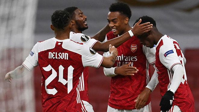 Kết quả bóng đá 26/11, sáng 27/11: Arsenal, Tottenham đại thắng, AC Milan mất điểm
