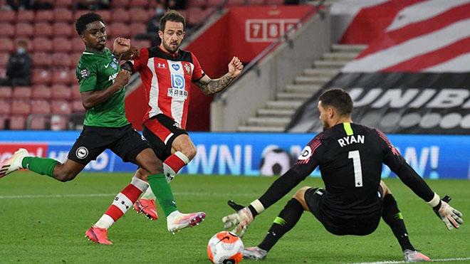 Lịch thi đấu bóng đá hôm nay. Trực tiếp Brighton vs Southampton. K+. K+PM