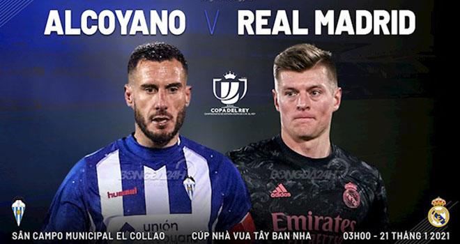 Alcoyano vs Real Madrid, lịch thi đấu bóng đá, trực tiếp bóng đá