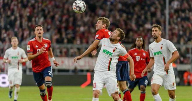 lịch thi đấu bóng đá, trực tiếp bóng đá, Augsburg vs Bayern Munich