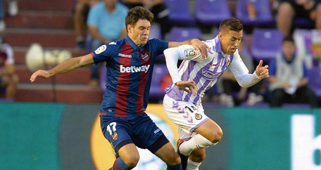 Levante vs Real Valladolid, lịch thi đấu bóng đá, trực tiếp bóng đá