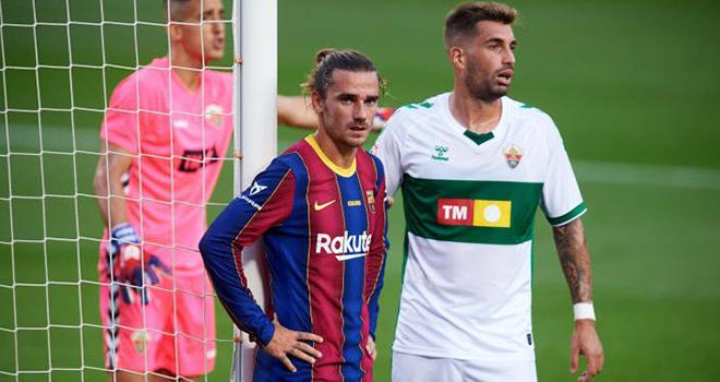 Elche vs Barcelona, lịch thi đấu bóng đá, trực tiếp bóng đá, La Liga