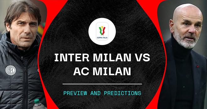 Inter Milan vs AC Milan, trực tiếp bóng đá, lịch thi đấu bóng đá, Cúp Italia