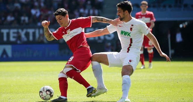 Augsburg vs Stuttgart, trực tiếp bóng đá, lịch thi đấu bóng đá, Bundesliga