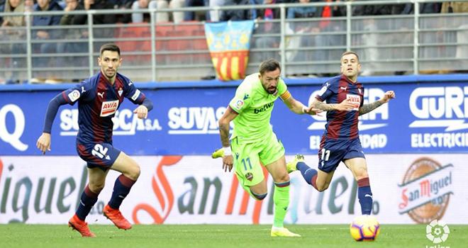 Levante vs Eibar, trực tiếp bóng đá, lịch thi đấu bóng đá