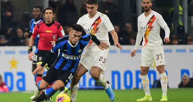 Roma vs Inter Milan, trực tiếp bóng đá, Serie a, lịch thi đấu serie A