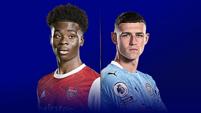 Lịch thi đấu bóng đá hôm nay. Trực tiếp Arsenal vs Man City, MU vs Newcastle. K+, K+PM