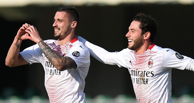 Video Verona vs Milan, Video clip bàn thắng Verona vs Milan, Kết quả Verona vs Milan, Kết quảbóng đá Ý, Kết quảMilan đấu với Verona, Kết quả Serie A, BXH bóng đá Italia