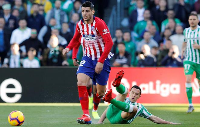 Real Betis vs Atletico Madrid, trực tiếp bóng đá, lịch thi đấu bóng đá
