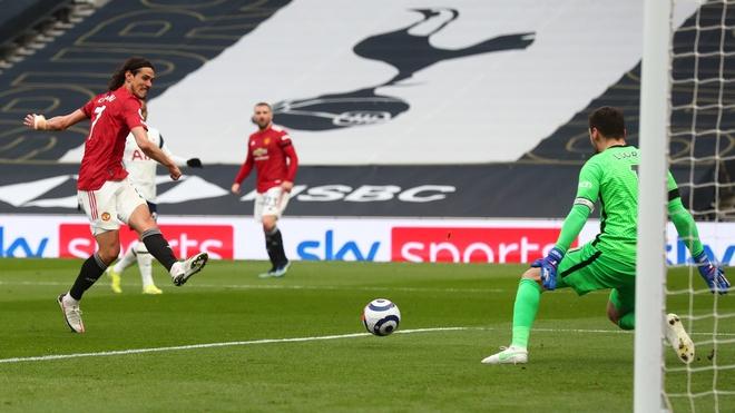 Kết quả Tottenham vs MU, Video Tottenham vs MU, Cavani bị từ chối bàn thắng, VAR, Son Heung Min, McTominay, Cavani, kết quả Ngoại hạng Anh, bảng xếp hạng Ngoại hạng Anh