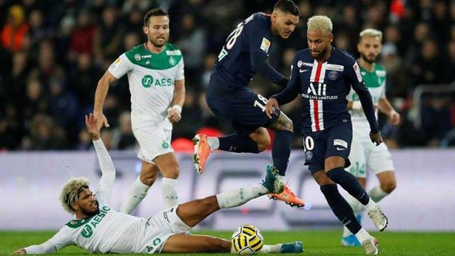 PSG vs St Etienne, trực tiếp bóng đá, lịch thi đấu bóng đá, Ligue 1