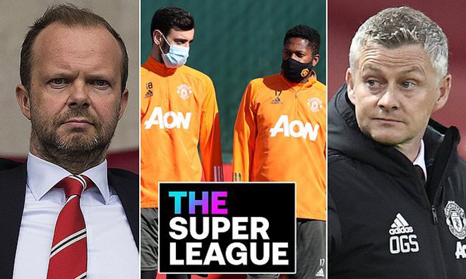 Super League, thành lập Super League, Diễn biến Super League, Diễn biến mới nhất Super League, Super League là gì, Super League bao nhiêu đội, MU, Real Madrid, Barcelona