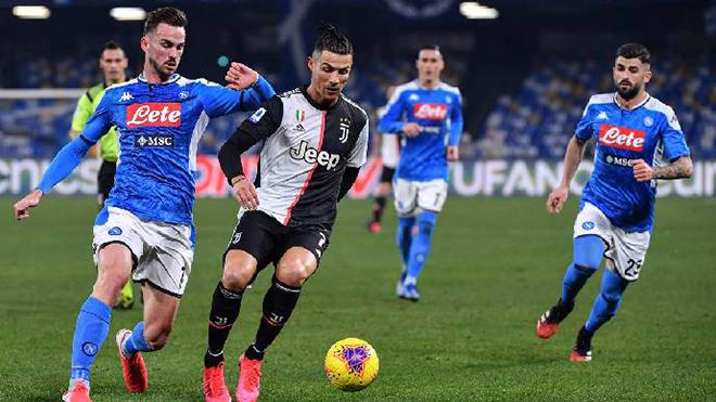 Juventus vs Napoli, trực tiếp bóng đá, lịch thi đấu bóng đá, Serie A
