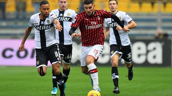 Parma vs Milan, trực tiếp bóng đá, lịch thi đấu bóng đá