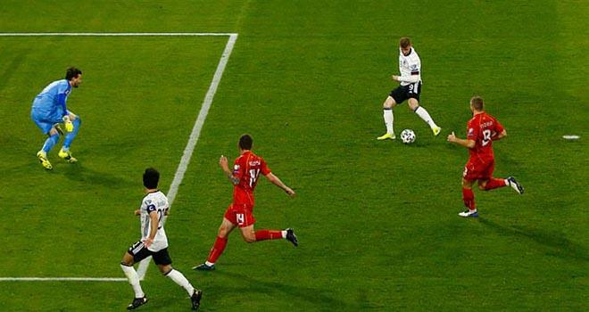 Kết quả bóng đá, Đức vs Bắc Macedonia, Werner bỏ lỡ cơ hội, Vòng loại World Cup 2022, cộng đồng mạng, video Đức vs Bắc Macedonia, kết quả vòng loại World Cup 2022, kqbd