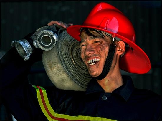 triển lãm ảnh, vì bình yên cuộc sống, người hà nội, mãn nguyện, phòng cháy chữa cháy