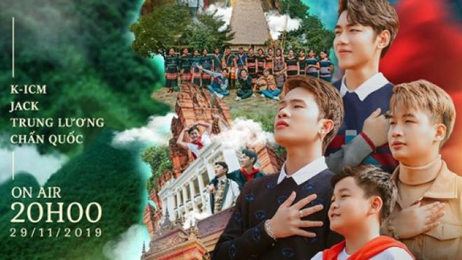 Chấn Quốc 'Giọng hát Việt nhí 2019' góp mặt trong MV 'Việt Nam tôi' của Jack và K-ICM