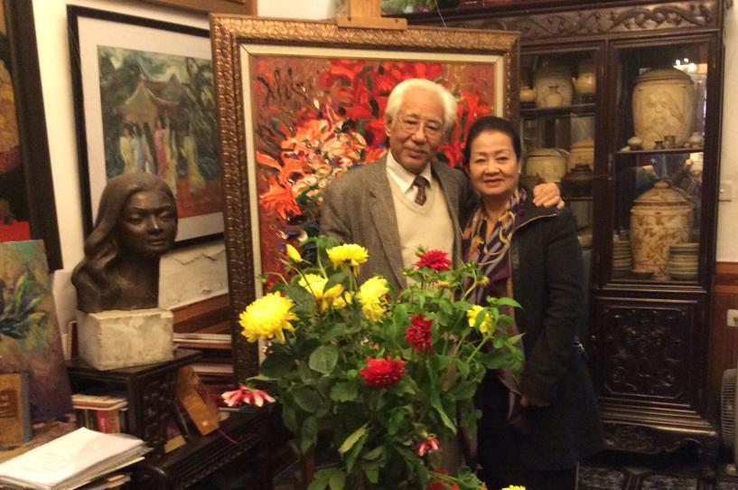 Nguyên Chủ tịch Hội Mỹ thuật Việt Nam - họa sĩ Trần Khánh Chương qua đời ở tuổi 77