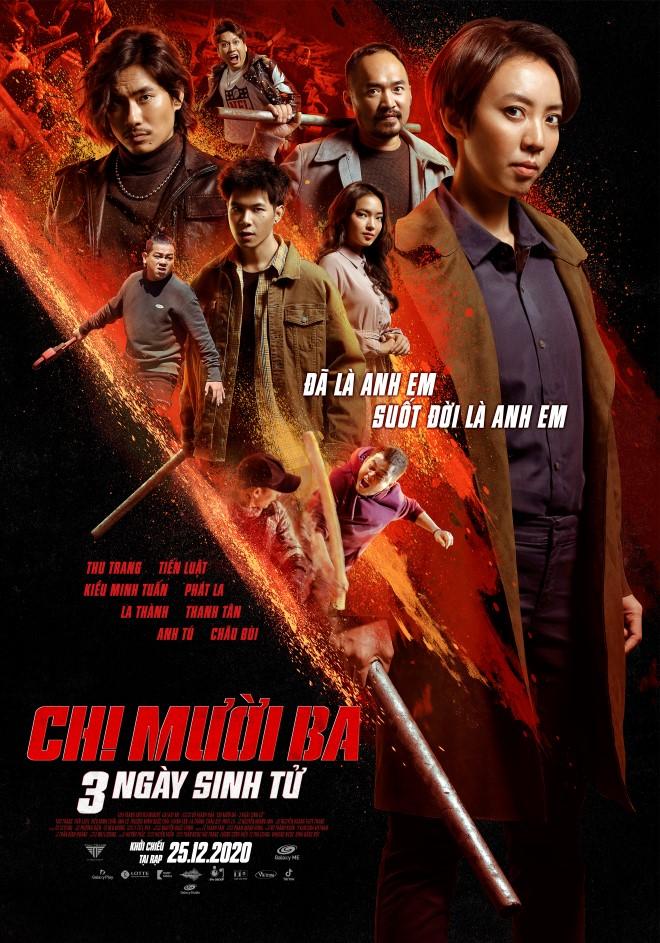 Thu Trang, Tiến Luật, CHị Mười ba, Chị Mười Ba - 3 ngày sinh tử