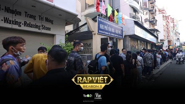 Rap Việt mùa 2, Rap Việt, Casting