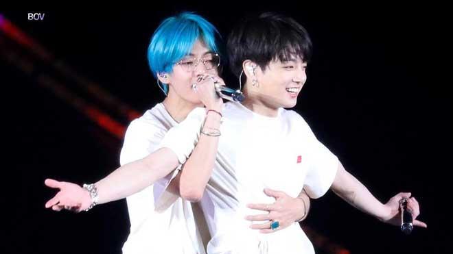 BTS: V và Jungkook đúng 'cặp trời sinh', đến BXH đẹp trai cũng phải 'dính' nhau mới chịu