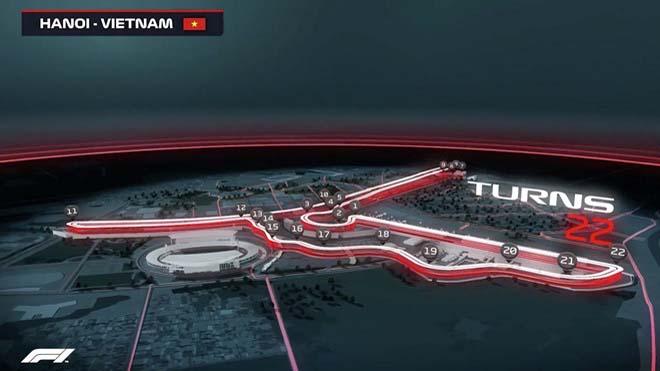 VIDEO: Những điểm chú ý về đường đua F1 Việt Nam