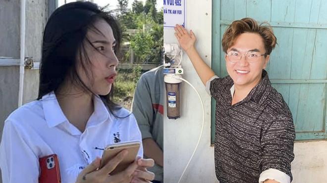 Thuỷ Tiên, Việt Hương, Đại Nghĩa cứu trợ miền Tây bị hạn hán, ngập mặn